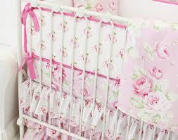 shabby chic crib bedding sets