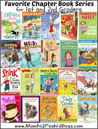 20 great book series for 1st thru 2nd graders