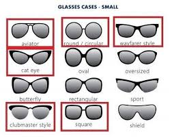 Glasses Size Chart Glasses Cases Size Chart Celyfos