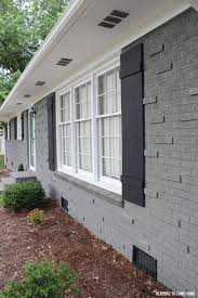 Small Picture Paint Outside Brick House Best 25 Painted brick exteriors ideas