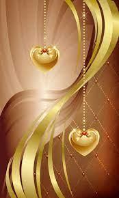 Golden heart wallpaper by Amberbel - 76 ...