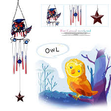 retro colorful owl pattern handmade iron stained glass wind chimes bell decor beautiful 1477622311 1779 jpg 1477622307 5771 jpg