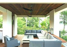 outdoor porch ceiling fans patio ceiling fans outdoor deck fan outside porch ceiling fans patio contemporary with wood cushions lighting metal r outdoor