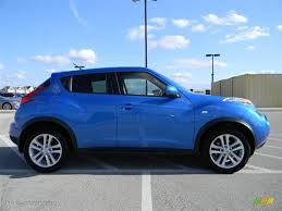 nissan juke electric blue. Brilliant Blue Electric Blue 2011 Nissan Juke S Exterior Photo 59218404 With C