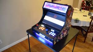 Raspberry Pi Game Cabinet Raspberry Pi 3 Retropie Bar Top Arcade Cabinet Build Reys 128 Gb