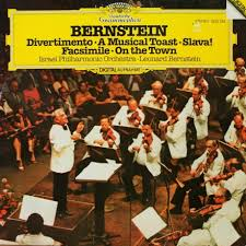 discography leonard bernstein facsimile choreographic essay for orchestra