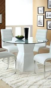 round glass kitchen table sets dining and chair set hideaway