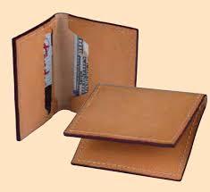 classic card wallet leather kit leathercraft kit