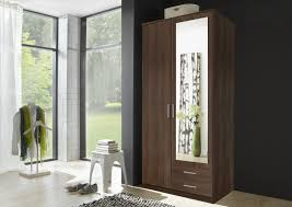 mirror effect furniture. Osaka Walnut 2 Door Wardrobe Mirror Effect Furniture