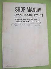 honda cb175 manual 1969 1970 genuine honda cb175 cl175 cb125 cl125 k3 supplementary shop manual old