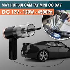 Máy hút bụi mini cầm tay ướt và khô nhỏ gọn KOSKO trong oto xe hơi ô tô cắm  điện tẩu k không dây gia đình sạc pin USB