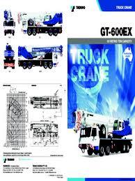 Truck Cranes Telescopic Boom Tadano Gt 600ex Specifications