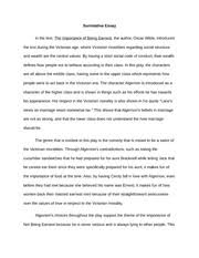 the importance of being earnest summative essay summative essay the importance of being earnest summative essay summative essay in the text the importance of being earnest the author oscar wilde introduces the text