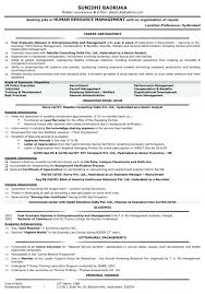 Human Resource Resume Objective Human Resource Resume Objective Hr Admin Sample Manager 98