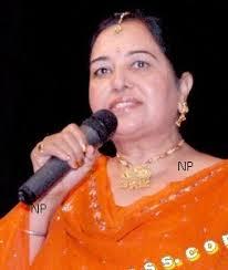 Asha Sharma, a famous MC in North America. - MPD_0050M