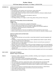 Supervisor Service Resume Samples Velvet Jobs