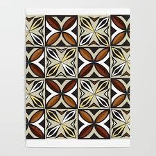 Samoan Siapo Designs Siapo Samoan Inspired Design Poster By Kwazikreationz