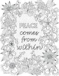 Exclusive Design Free Quote Coloring Pages For Adults Collection Of