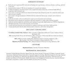 Sample Nurse Resume Example Of Rn Resume Sample Registered Nurse New Graduate Nursing 77