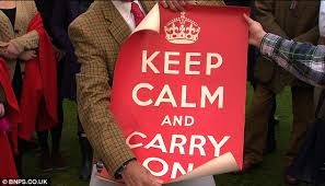 How To Make A Keep Calm Poster Keep Calm And Carry On Only Surviving Stash Of The Original