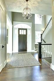 foyer area rug size ideas paint entry traditional with capped baseboard synthetic outdoor rugs entryway i foyer area rug size