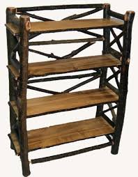 Moose Wood Log Book Shelf