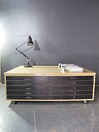 vintage a0 french plan chest coffee