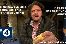 bbc radio 4 s the kitchen cabinet hosted by jay rayner is a witty fast moving and irreve programme that s packed full of information for the