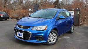 2017 Chevy Sonic LS Sedan: First Person In Depth Look - YouTube