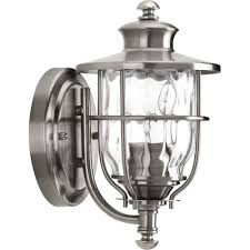 compelling exterior front porch light fixtures home depot brushed nickel outdoor lights wall mounted lighting in