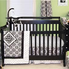 trend lab monaco 3 piece crib bedding set multi colored tiny toes