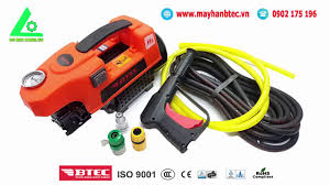 MÁY RỬA XE MINI áp lực cao BTEC BT1400 1400w 90bar | Động cơ cảm ứng từ -  YouTube