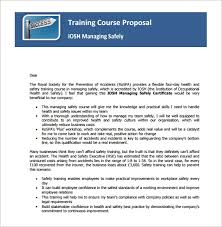 Course Proposal Template 41 Training Proposal Templates Pdf Doc Free Premium