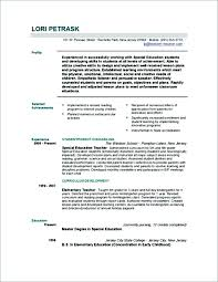 Example Resume Education Educational Consultant Resume Sample Resume