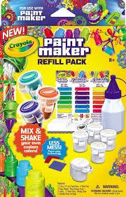 Crayola Paint Maker Refill Packs Painting Supplies