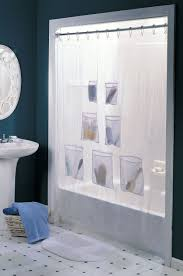 shower curtain with pockets featured s