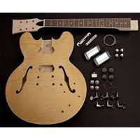 the best electric guitar kits to build guitarsite guitar fetish 335 kit
