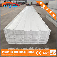 corrugated pvc roofing sheet water resistant plastic roof tile