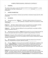 simple contract for services template 4 sample contract for services timeline template free service