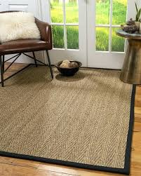 pottery barn seagrass rug reviews mountain grass rugs natural area cm beach black wide lapped rectangle seagrass rug