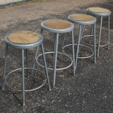 industrial age furniture. Vintage Industrial Metal Bar Stool Age Furniture H
