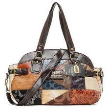 Coach Holiday Matching Large Coffee Multi Totes EIF Outlet