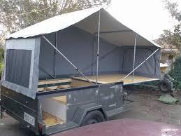 homemade tent trailer dirks diy camper trailer