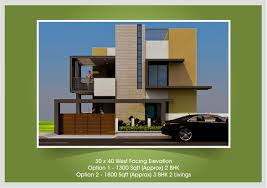 west facing house plan and elevation awesome 30 40 cool x house plans elegant amazing