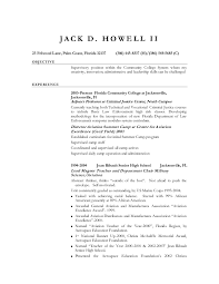 Entry Level Criminal Justice Resume Examples Best Of Marine Corps