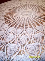 Crochet Tablecloth Pattern Enchanting Ravelry Round Pineapple Tablecloth 48 Pattern By The Spool