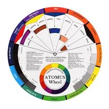 Red Color Wheel Chart Us 0 94 36 Off Atomus 1pc Tattoo Ink Color Wheel Chart Tattoo Permanent Makeup Accessories Micro Pigment Color Wheel Guide To Mixing Colortslm2 In