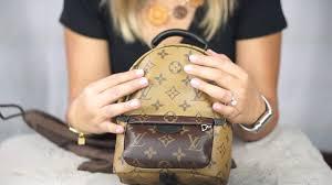 louis vuitton mini backpack. reverse monogram (palm springs backpack mini) louis vuitton fw 2016 collection unboxing!!! - youtube louis vuitton mini