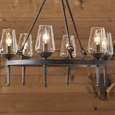 rustic votive chandeliers chandelier amusing faux candle chandelier faux crystal