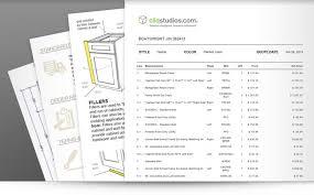 Kitchen Pricing Calculator Kitchen Cabinet Pricing Estimates Cliqstudios